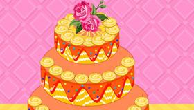 Un gâteau de mariage idéal