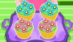 Des cupcakes de printemps