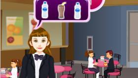 Serveuse à la cafétéria