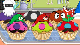 Mario fait des cupcakes