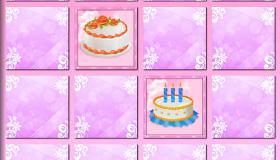 Jeu de mémoire spécial gâteau