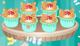Des cupcakes papillons