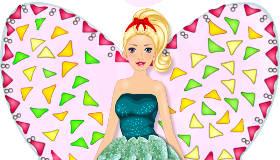 Le gâteau de la fée Barbie