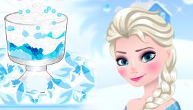 Le dessert glacé d'Elsa