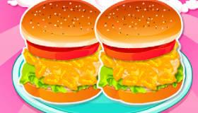 Hamburgers pour filles