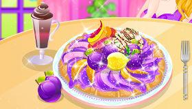 Cuisine une tarte aux prunes