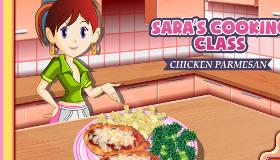 Cuisine un poulet au parmesan avec Sara