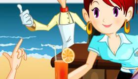 Serveuse de plage