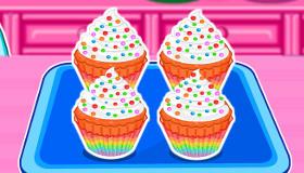 Cupcakes multicolores