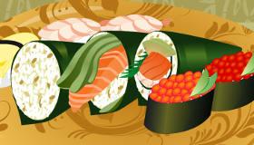 Les sushis de Mia
