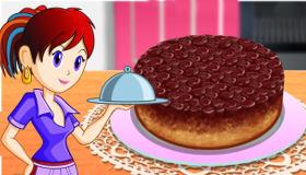 Sara cuisine une tarte tatin