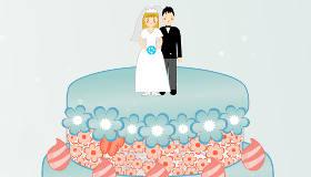 Gâteau de mariage en chocolat